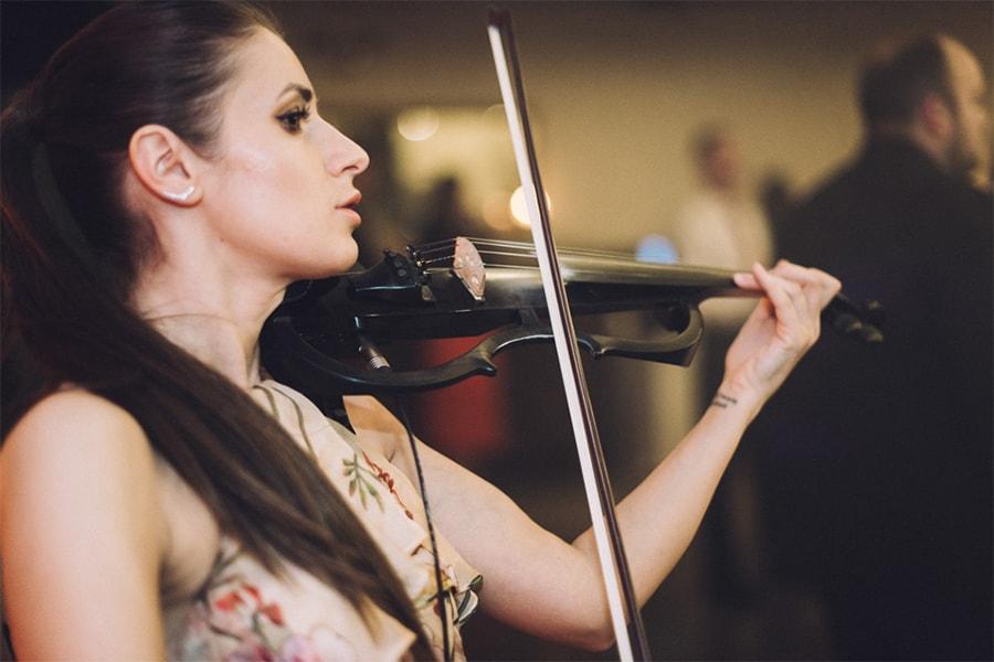 dj i skrzypce na wesele