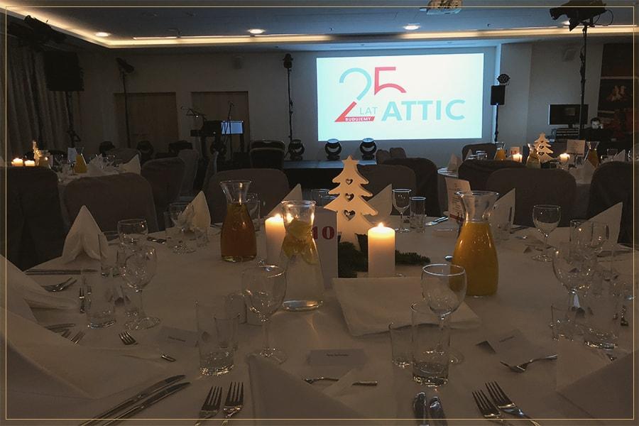 25-lecie firmy Attic Kraków