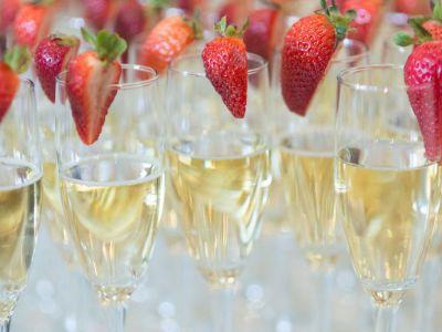 wiosna szampan