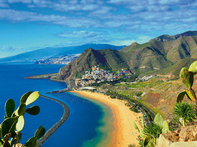 Spain, Canary Islands, Tenerife Island, San Andres City, Las Ter